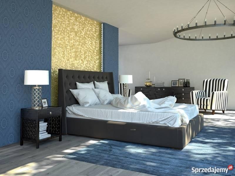 Łóżka tapicerowane tworzone na zamówienie według indywidual