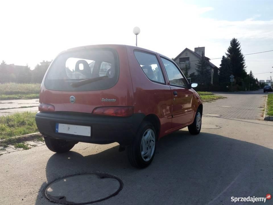 Fiat Seicento Rok produkcji 2004 lubuskie Gorzów Wielkopolski