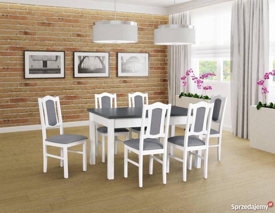 Zestaw Stół 80/140/180 + 6 Krzeseł - Promocja!