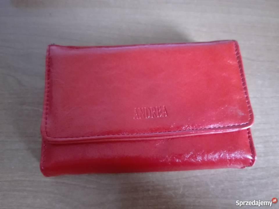 3aadc13d172d6 portfele damskie czerwone - Sprzedajemy.pl