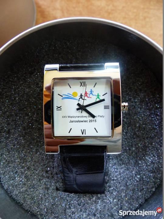 Unikatowy zegarek z logiem biegu na tarczy Chorzów