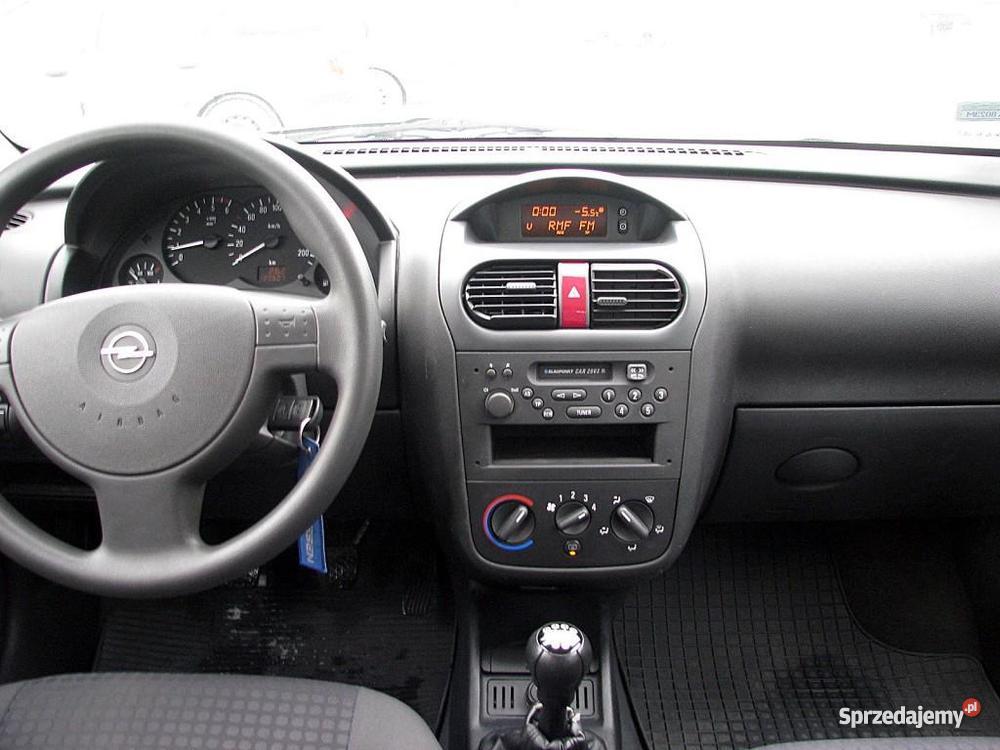 Opel Corsa C srebrny Włocławek