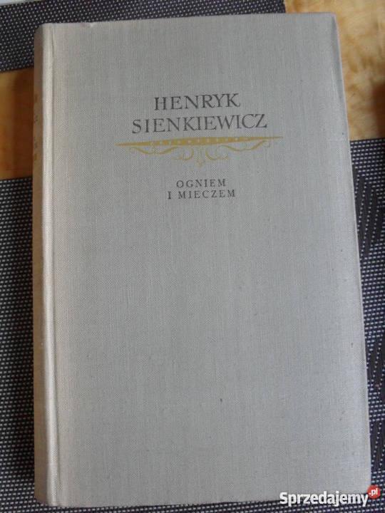 Ogniem i mieczem tom 1 Henryk Sienkiewicz