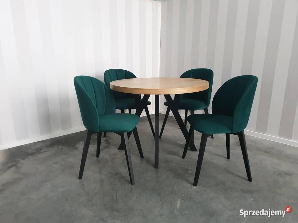 Krzesło tapicerowane nowoczesne loft skandynawskie