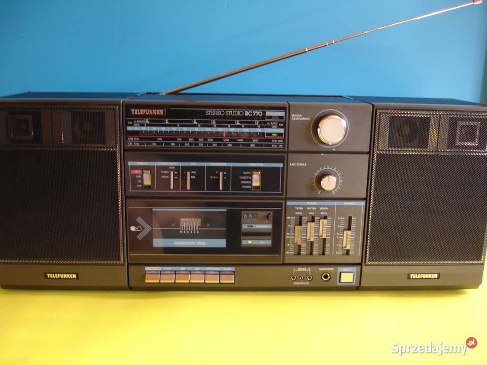Radiomagnetofon TELEFUNKEN RC-770
