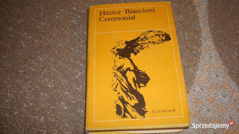 Ceremoniał - Bianciotti / js