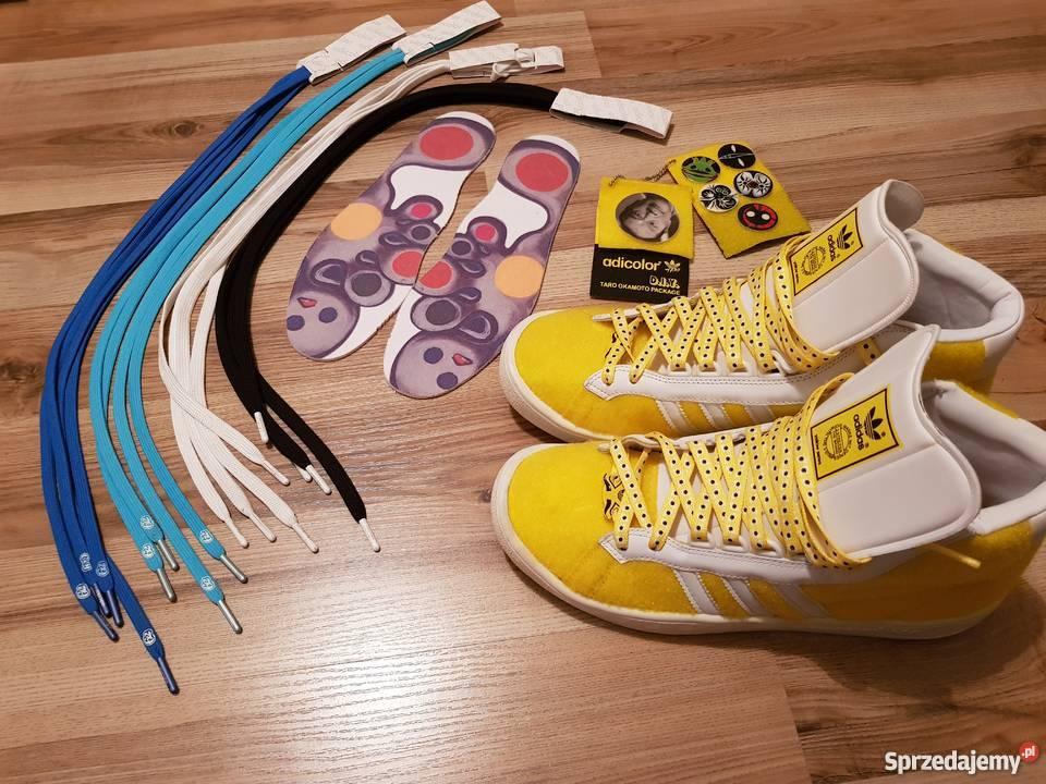 Halar Aprobación Sensible  Adidas - ADICOLOR HI Y2 TARO OKAMOTO sneakers , oldschool Warszawa -  Sprzedajemy.pl