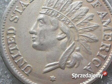SREBRNA MONETA 1 DOLAR 1851 sprzedam