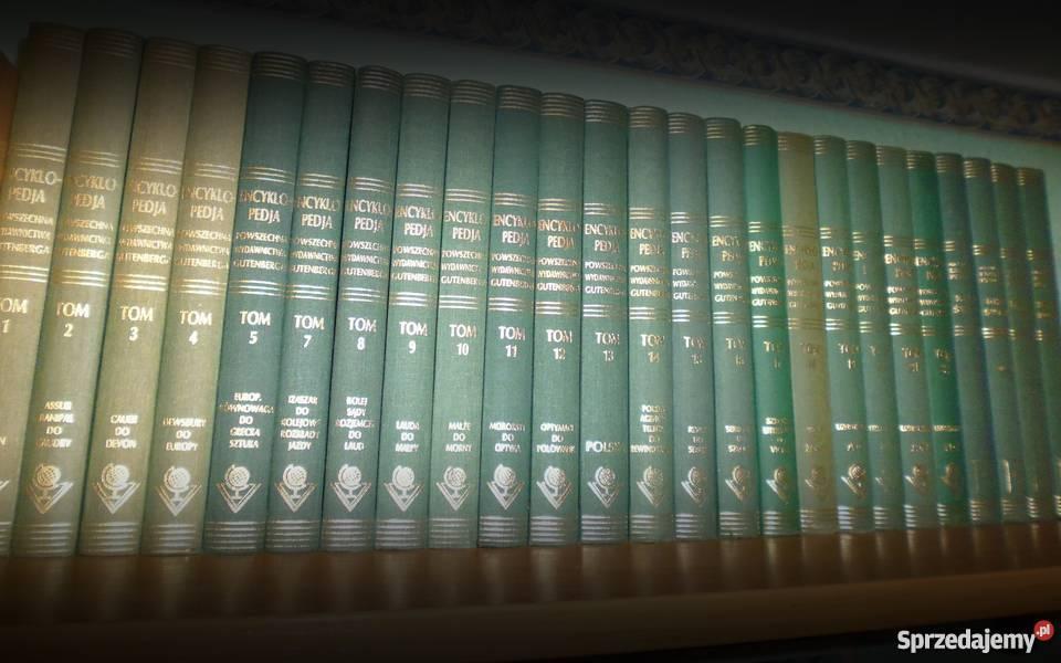 Ilustrowana Encyklopedia Gutenberga Katowice sprzedam