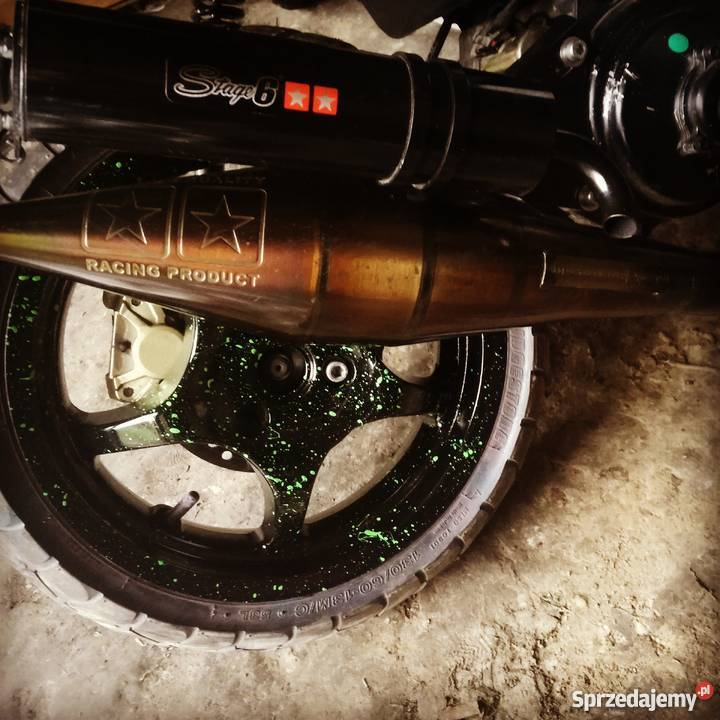 Yamaha aerox mbk nitro stage6 zielony