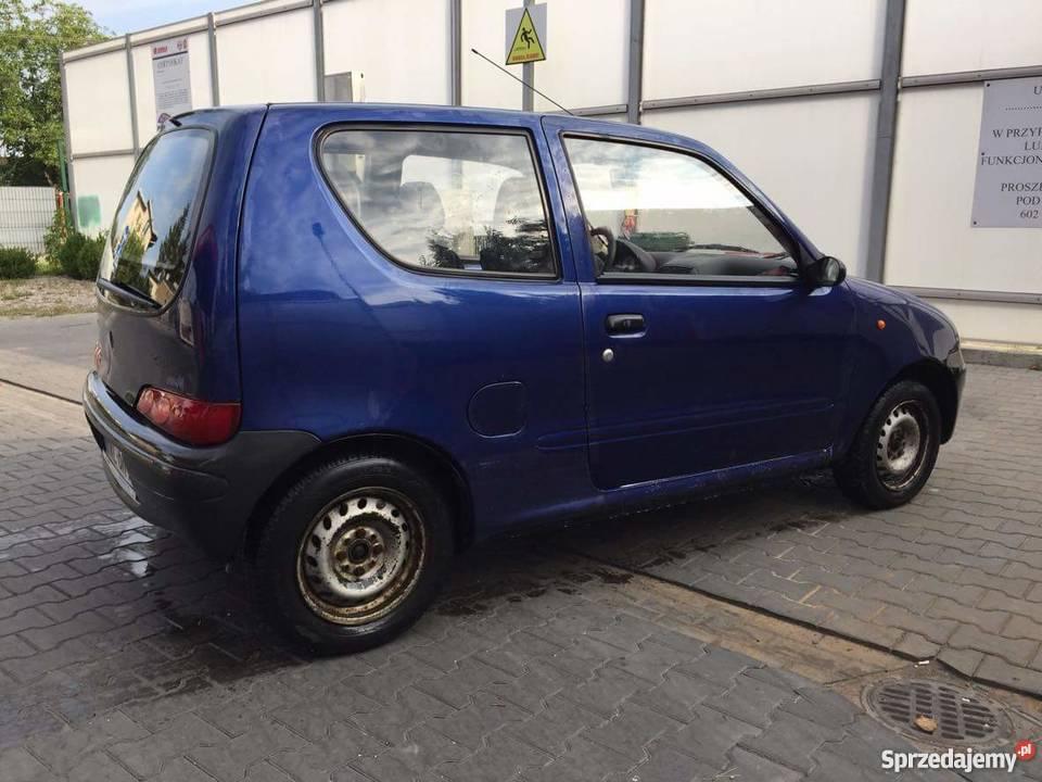 Fiat seicento z dlugimi oplatami oc 012019 pt Rok produkcji 1999 Marki