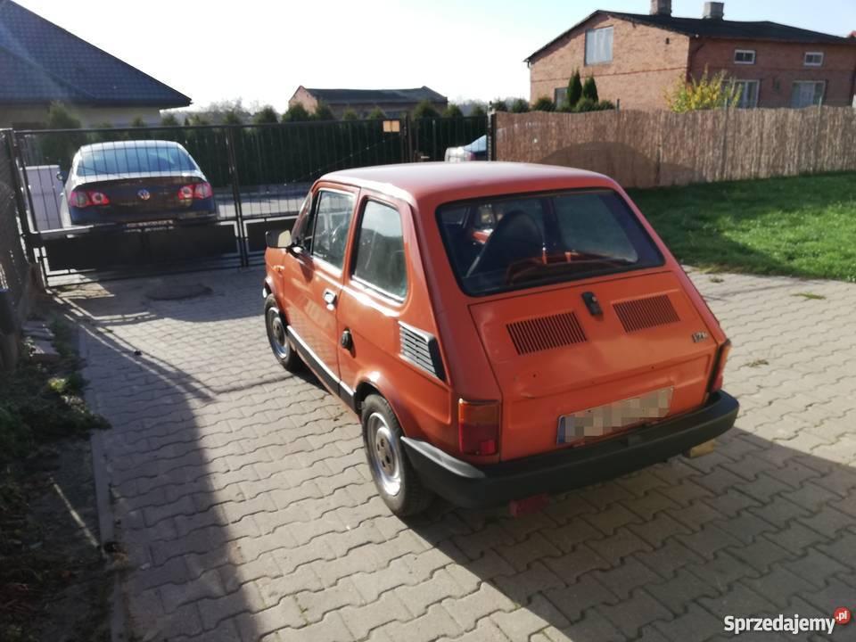 Fiat 126p 1985r Piotrków Trybunalski