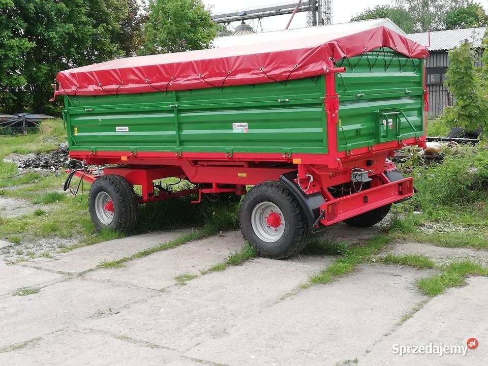 Przyczepa rolnicza GOMAR 7T