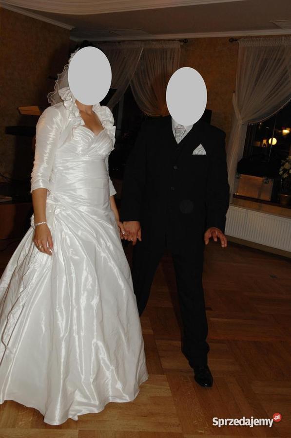 b3d15f192f Piękna suknia ślubna BOLERKO GRATIS - Sprzedajemy.pl