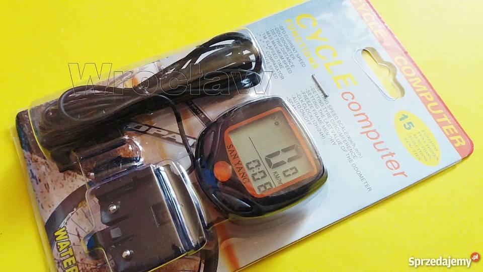 licznik rowerowy 14 funkcji 3 baterie Wrocław