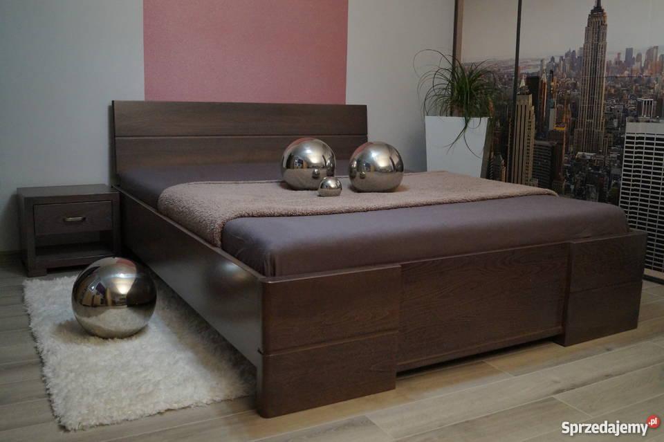 SOLIDNE łóżko drewniane bukowe 100% buk 160x200 PRODUCENT