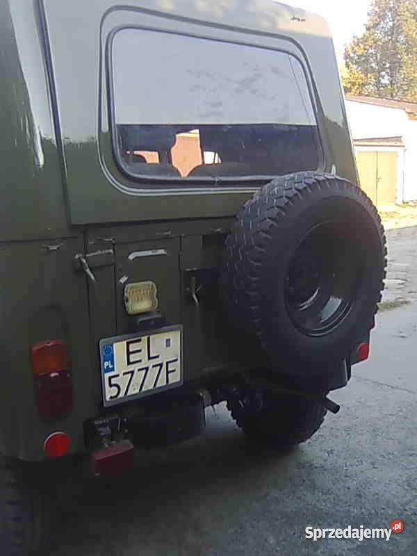UAZA 31512 nowsza Uaza 469B Zduńska Wola
