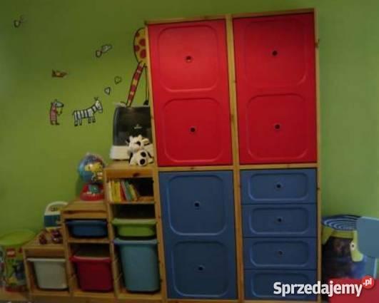 Szafa Dziecięca Oraz Regał Na Zabawki Ikea Trofast