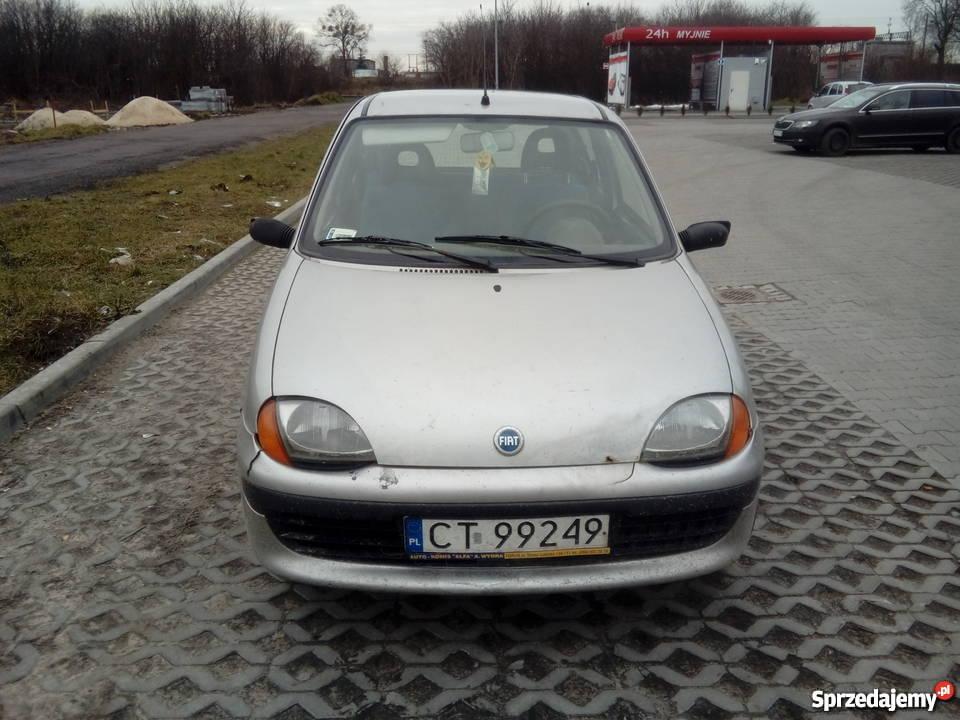 Fiat Seicento nieuszkodzony kujawsko-pomorskie Włocławek sprzedam