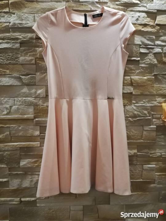 Sukienka sMoriss brzoskwiniowa s krótki Lubin sprzedam