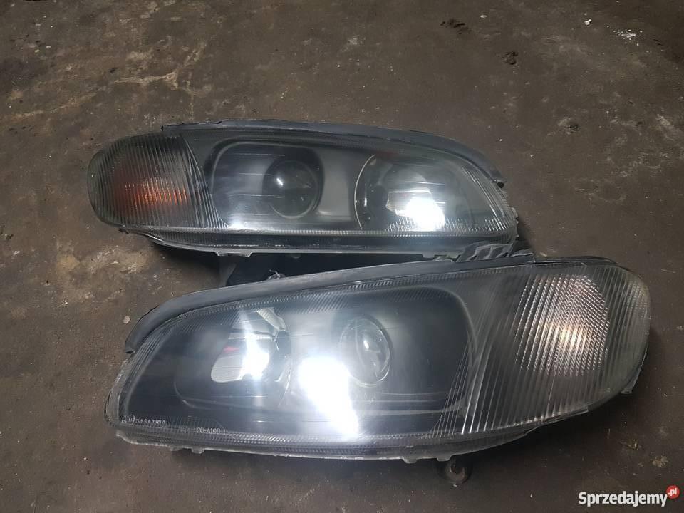 Opel Omega Tuning Lampy Przód Czarne