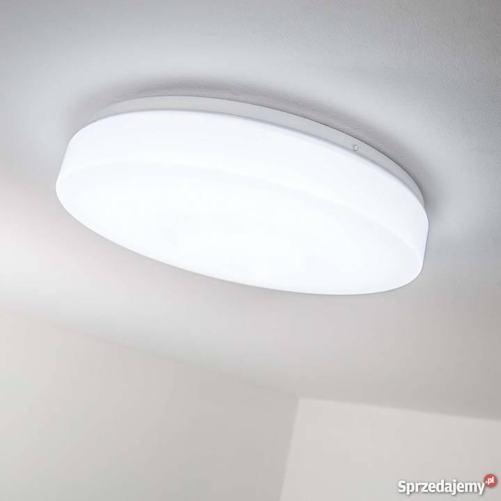 Lampa Sufitowa Gładka Do Przedpokoju Pilot