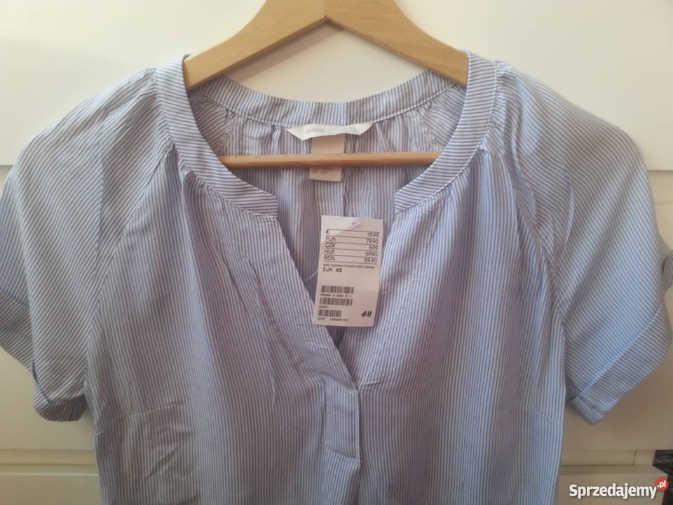 4b537651 Śliczna nowa bluzka ciążowa H&M Mama