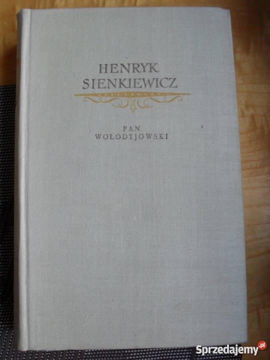 Pan Włodyjowski Henryk Sienkiewicz Warszawa