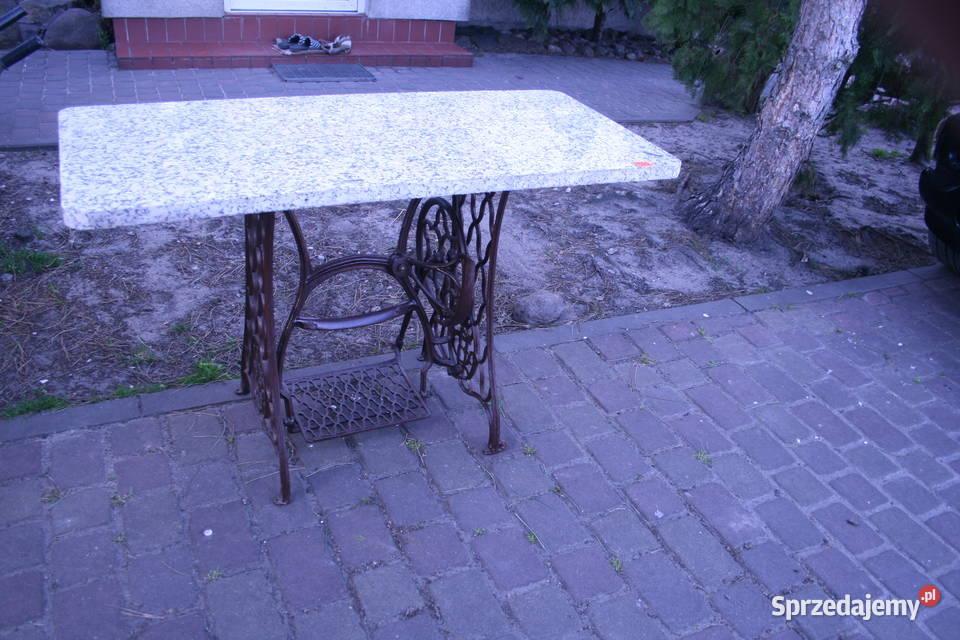 Stolik stół Maszyna do szycia Singer loft vintage