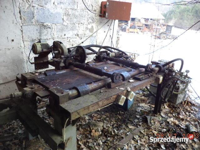 Maszyna do wyrobu gontu wiórów wełny drzewnej Wyszewo