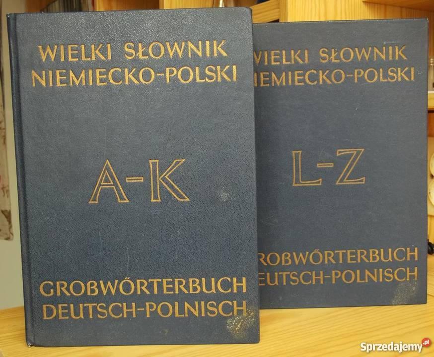 Wielki słownik niemiecko-polski (2 tomy)