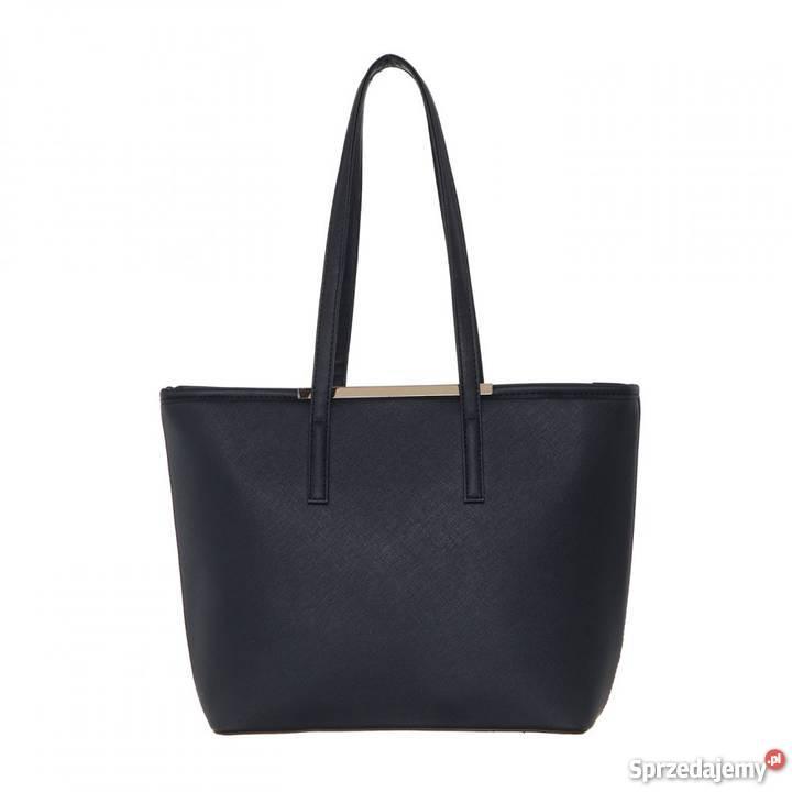 bd561a15a621e Duża klasyczna torebka mieszcząca a4 czarna must Na ramię mazowieckie  sprzedam