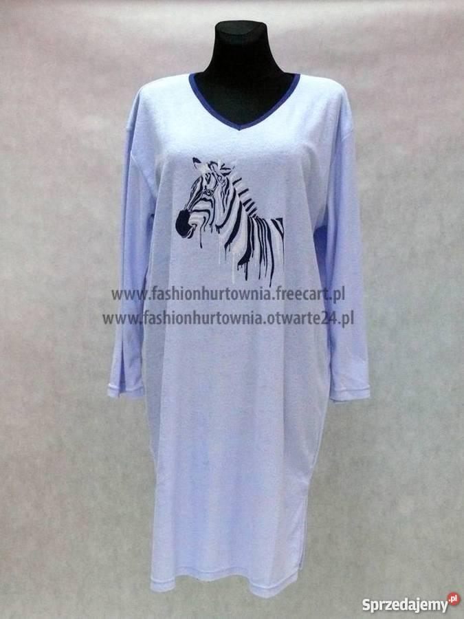ed09f8b57d252c Koszula nocna damska zebra Fashion Hurtownia Int mazowieckie Wólka Kosowska