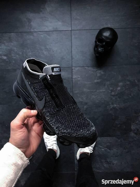 online store 792bf 8d720 Nike Air Vapormax Flyknit SE Laceless 'Black Night'