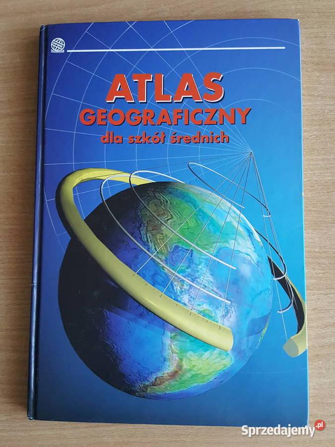 ATLAS geograficzny + płyta atlas świata,  geografia, mapy