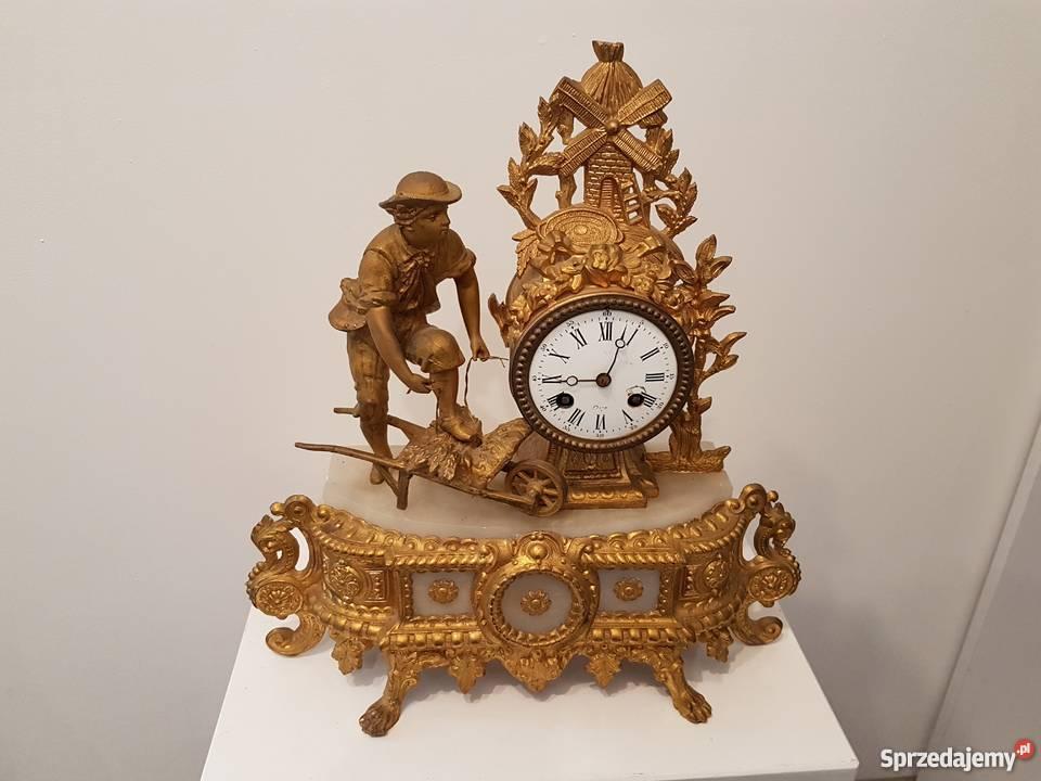 Zegary Kominkowe Francja Okazja Zestaw