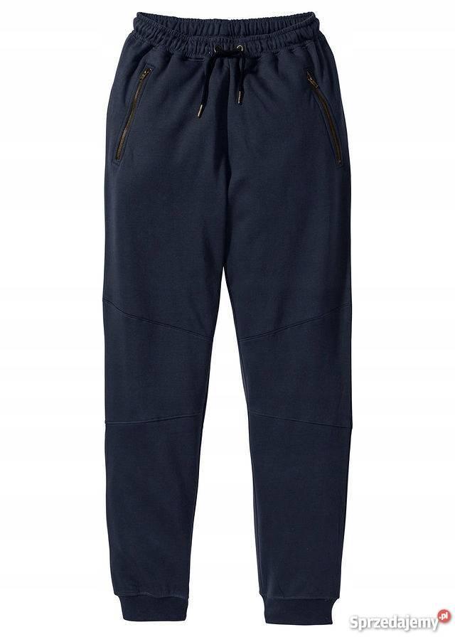 B.p.c. spodnie dresowe slim fi niebieski 5254 l.