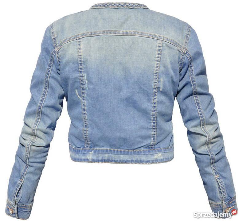 1862848199d1e katana kurtka jeansowa - Sprzedajemy.pl