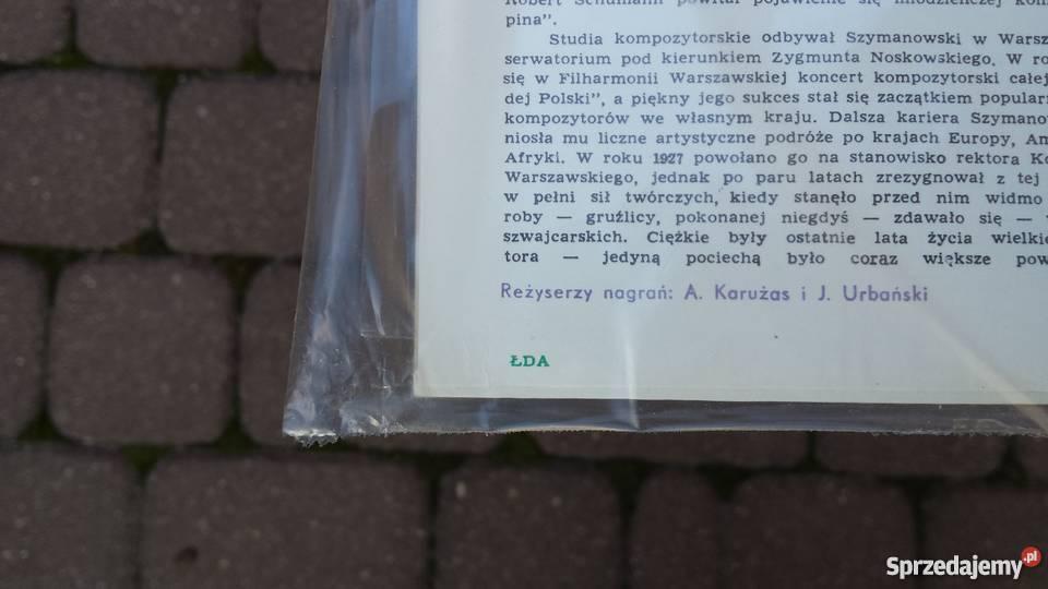 Nowa Płyta winylowa RóżyckiPan Twardowski Muzyka Warszawa