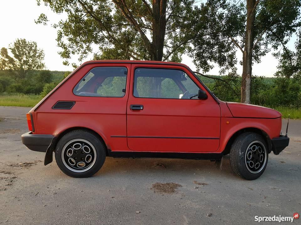 Fiat 126p EL elegant maluch oc przegląd benzyna Bełchatów sprzedam