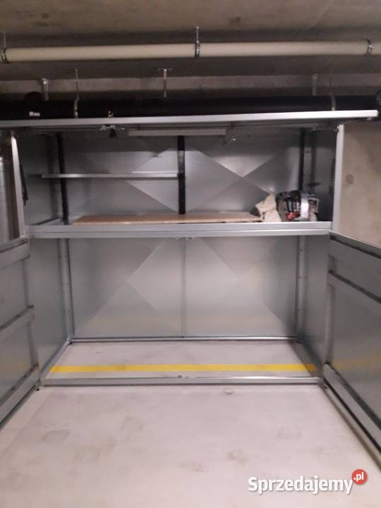 Szafa garażowa poj. 4200l szafa metalowa box garażowy boxy