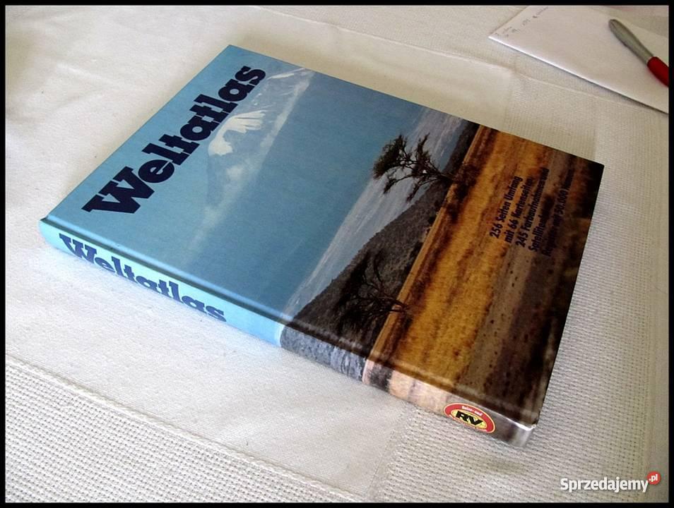 Weltatlas wydanie atlasu niemiecku mazowieckie Warszawa