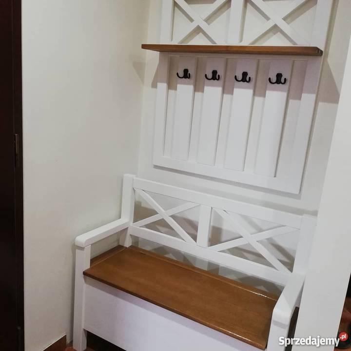 Garderoba Do Przedpokoju W Stylu Prowansalskim