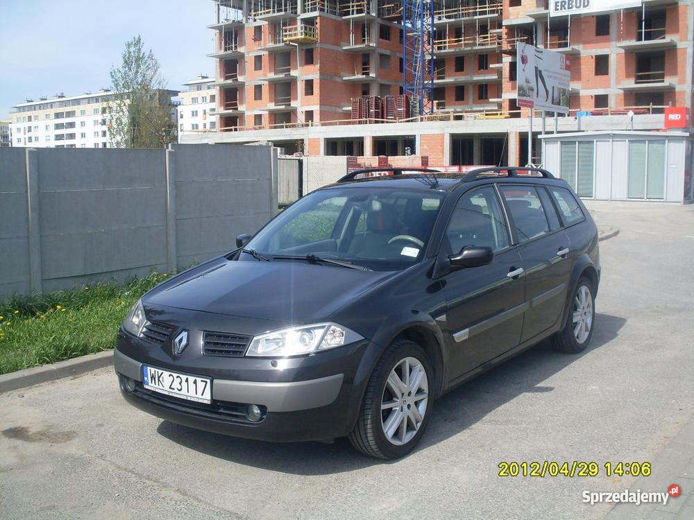 renault megane ii 1 9 dci 2004 privilege. Black Bedroom Furniture Sets. Home Design Ideas