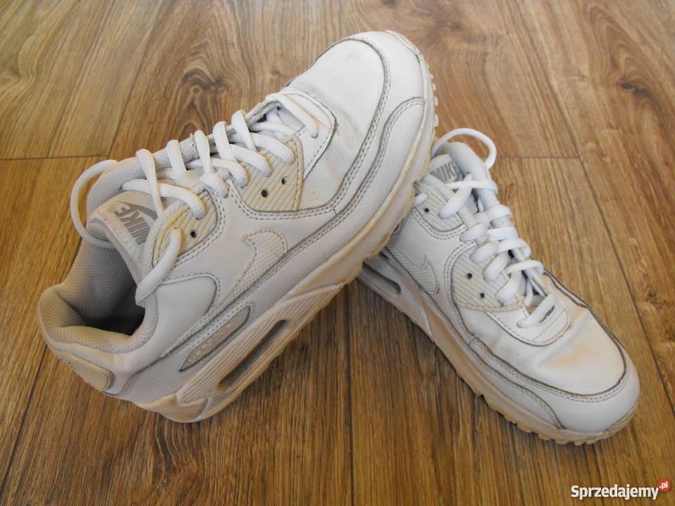 sprzedaż online klasyczny styl nowe wydanie Buty NIKE AIR MAX 36/37 23cm Skóra* białe adidas/puma/asics