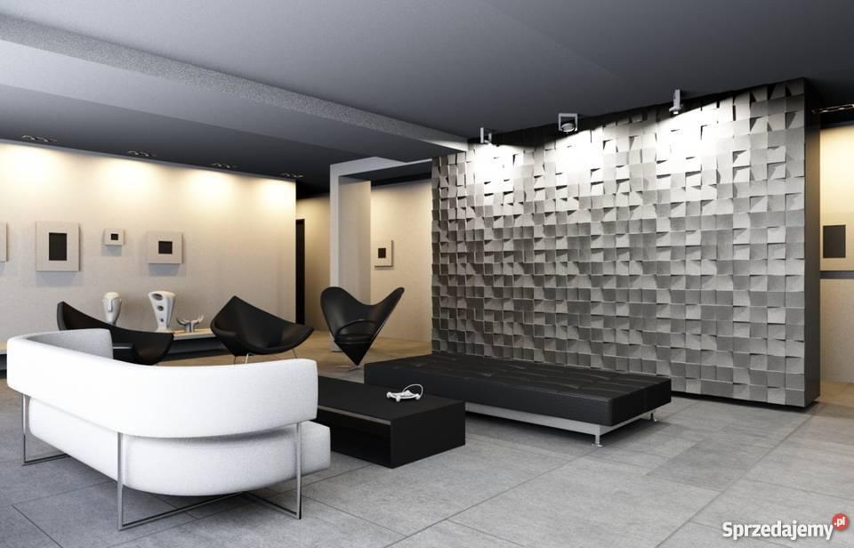Panel ścienny 3d Cube Panele Gipsowe Dekoracyjne Gniezno