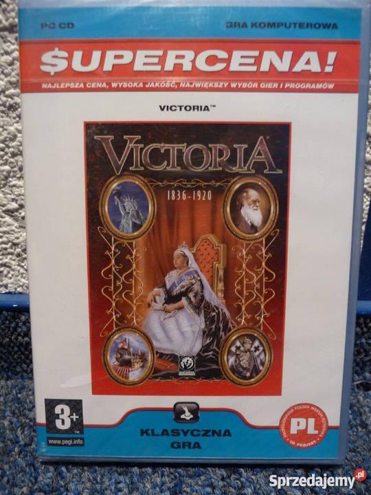Victoria gra PC nowa folia Poznań
