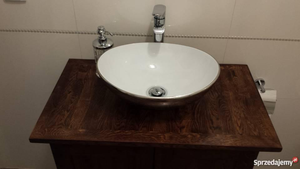 Szafka łazienkowa Drewniana Na Zamówienie