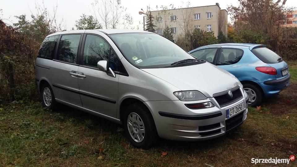 Poważnie Fiat Ulysse 7-osobowy Toruń - Sprzedajemy.pl NF74