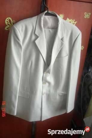 7eaaea6ea9ff5 Piękny jasny garnitur Rozmiar XL Odzież wyjściowa Kalisz